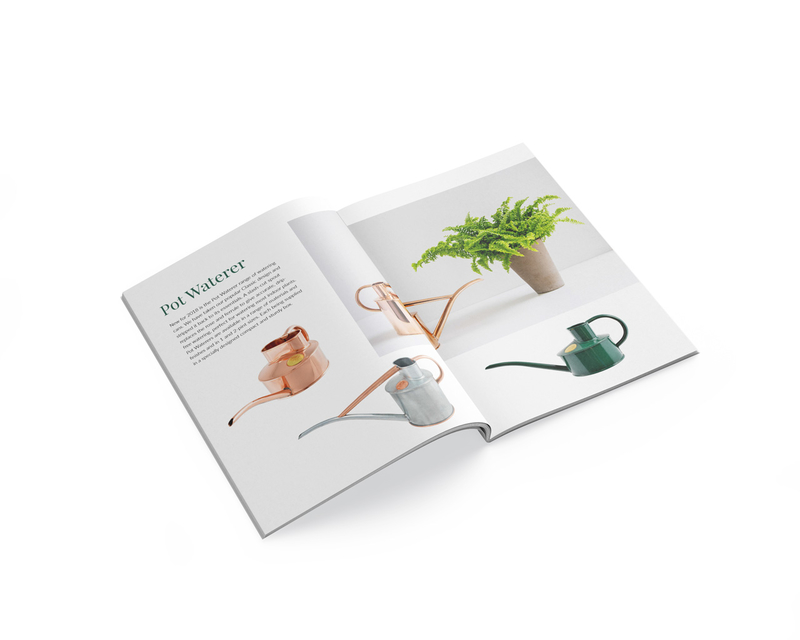 Haws Watering Cans - What's New brochure - inner