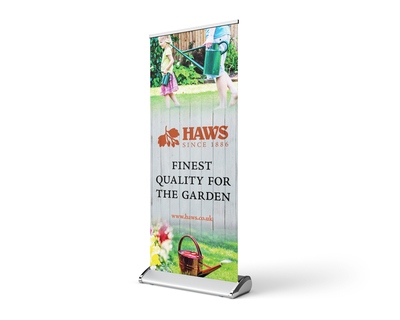 Haws Watering Cans rollup banner