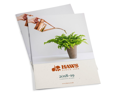 Haws Watering Cans Trade Brochure 2018-19 - cover