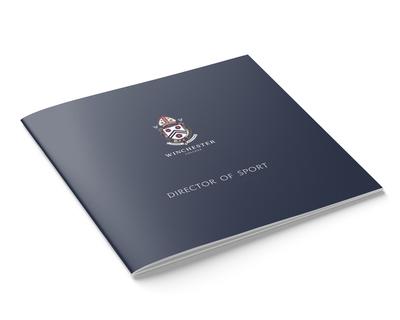 Winchester College Director of Sport vacancy brochure - cover
